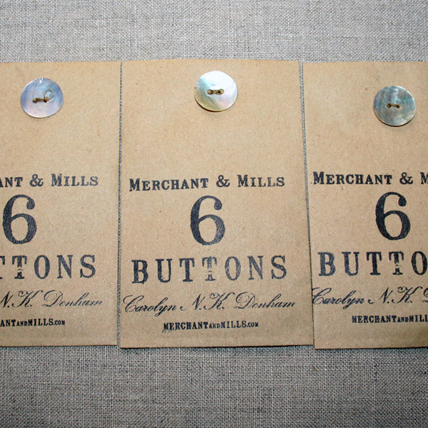 Buttons - Mother of Pearl - Stitch 56