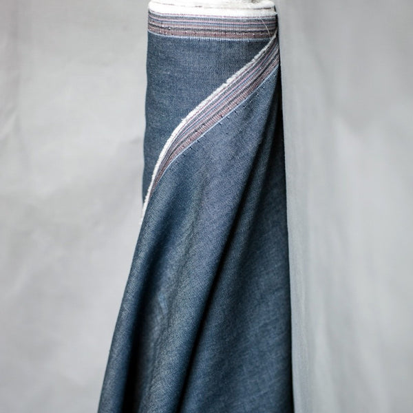 Cotton Chambray Dark Blue | Merchant & Mills - Stitch 56  - 1
