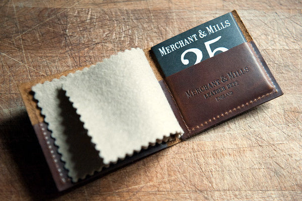 Leather Needle Wallet - Stitch 56  - 1