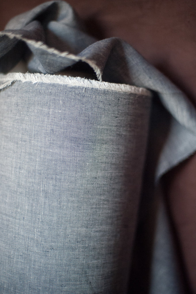 Dirty Denim | Irish Linen | Merchant & Mills - 1/4m
