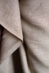 Heritage Check | Irish Linen | Merchant & Mills - 1/2m