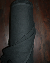 Scuttle Black | Linen | Merchant & Mills - 1/4m - Stitch 56  - 1
