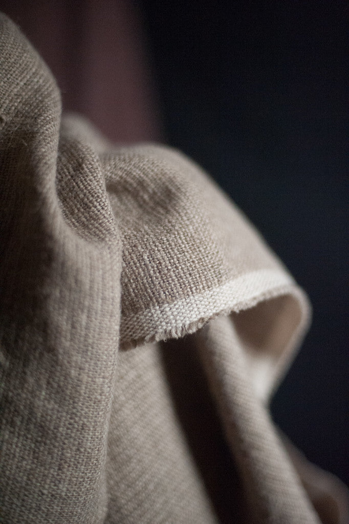 Soft Natural Stripe | Irish Linen | Merchant & Mills - 1/2m