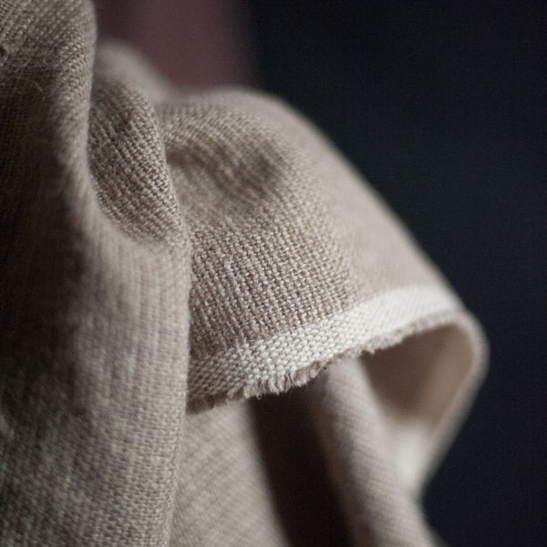 Soft Natural Stripe | Irish Linen | Merchant & Mills - 1/4m