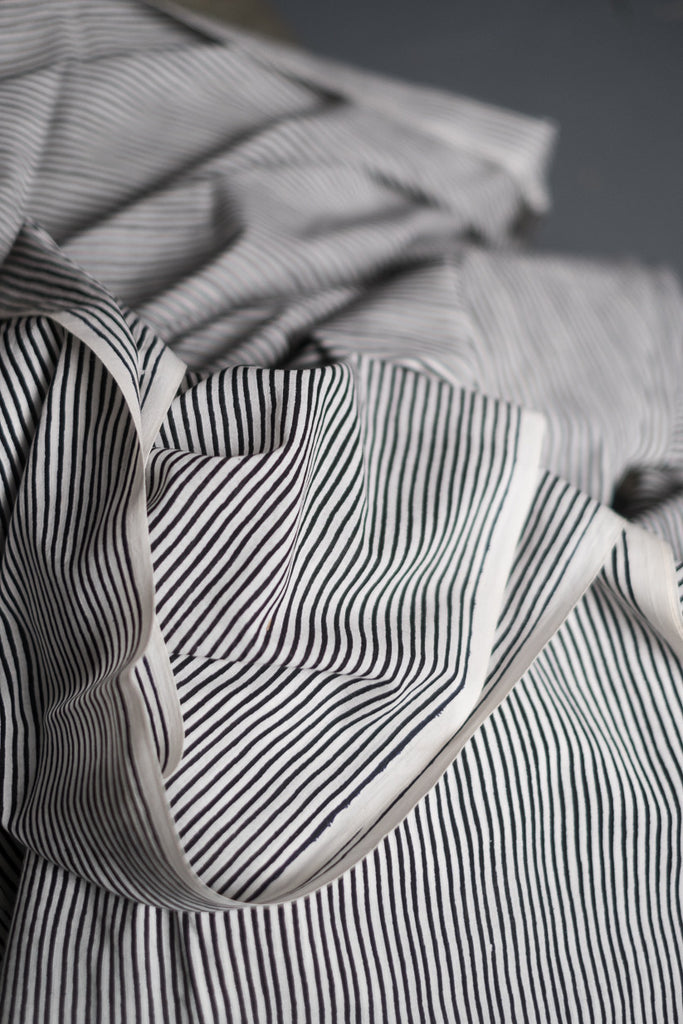 Lean Stripe Mono Block | The Rajasthan Express Collection | Merchant & Mills