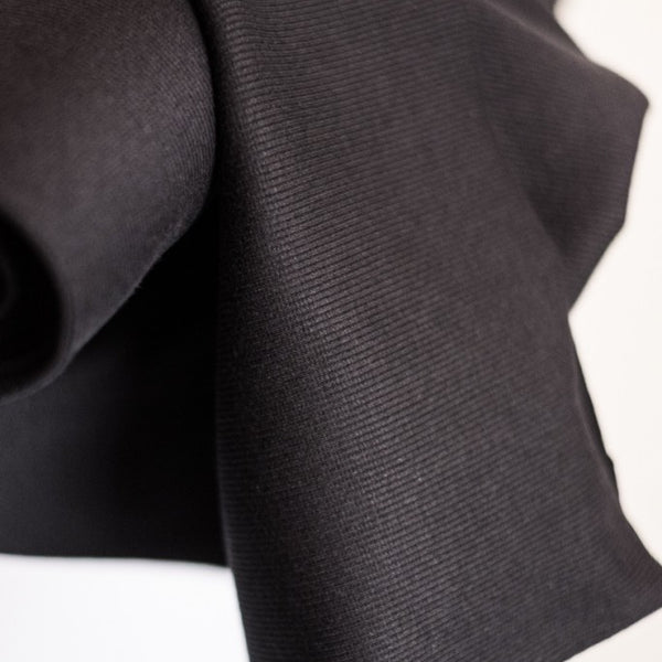 Rib - Black, 30cm | Merchant & Mills - Stitch 56  - 1