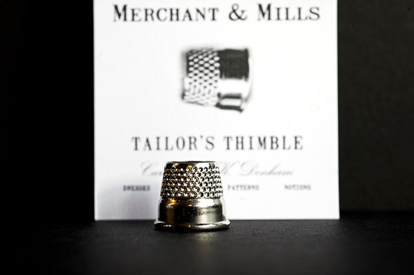 Tailor's Thimble - Nickel - Stitch 56