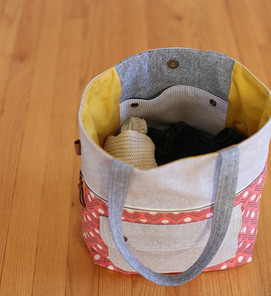 Caravan Tote & Pouch Sewing Pattern | Noodlehead