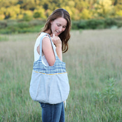 Go Anywhere Bag Sewing Pattern | Noodlehead - Stitch 56  - 1