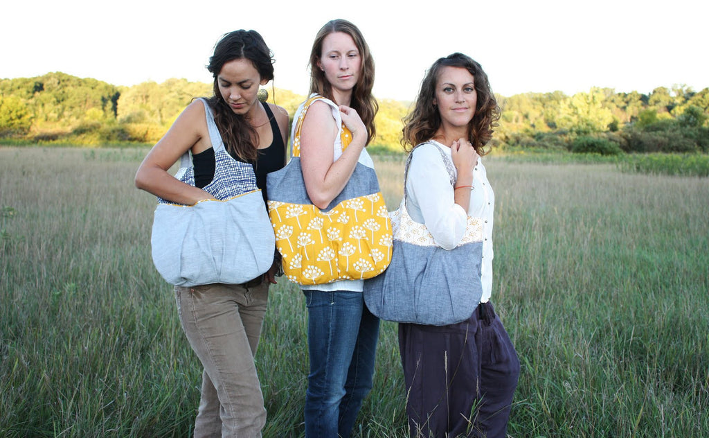 Go Anywhere Bag Sewing Pattern | Noodlehead - Stitch 56  - 7