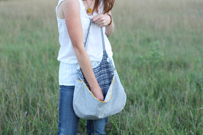 Go Anywhere Bag Sewing Pattern | Noodlehead - Stitch 56  - 5