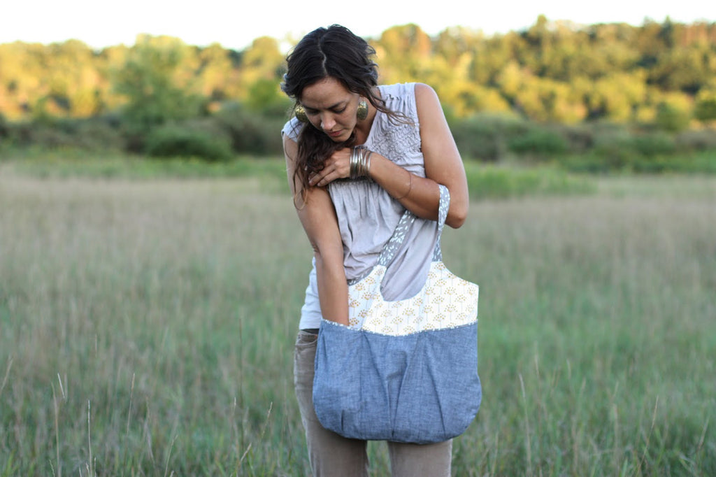 Go Anywhere Bag Sewing Pattern | Noodlehead - Stitch 56  - 2