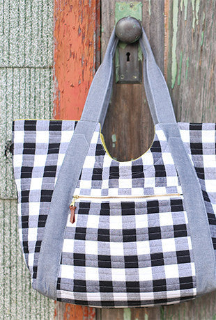 Poolside Tote Sewing Pattern | Noodlehead