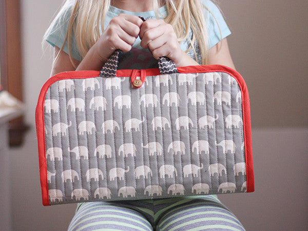 Road Trip Case Sewing Pattern | Noodlehead - Stitch 56  - 1