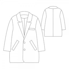 Gerard Coat Paper Sewing Pattern | République du Chiffon