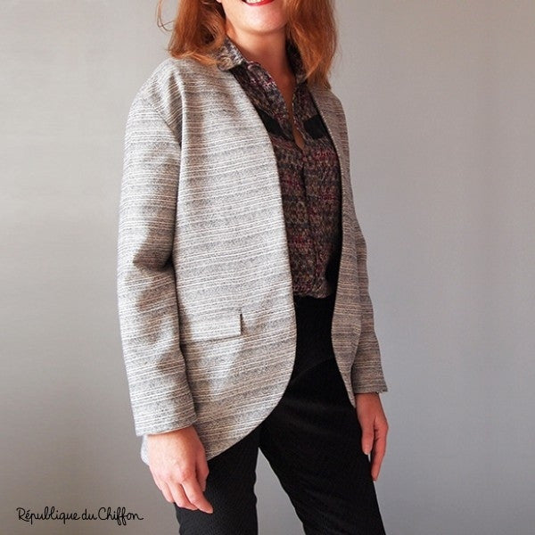 Gisèle Jacket Paper Sewing Pattern | République du Chiffon