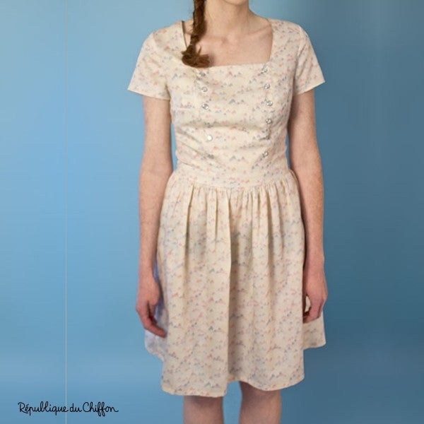 Marina Dress Paper Sewing Pattern | République du Chiffon
