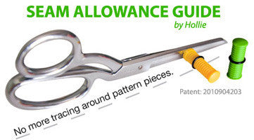Seam Allowance Guide by Hollie