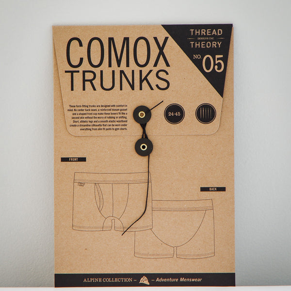 Comox Trunks Paper Sewing Pattern | Thread Theory - Stitch 56  - 1