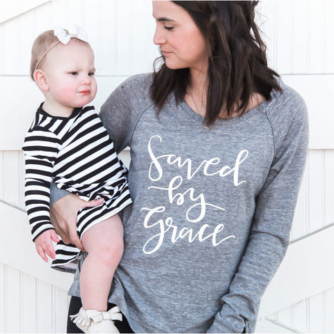 Saved By Grace Pullover
