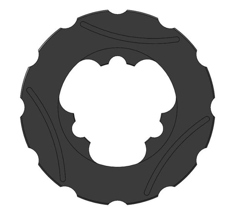 Nitro FRONT BRAKE DISC 149X12MM SELF-VENTILATED FLOATING