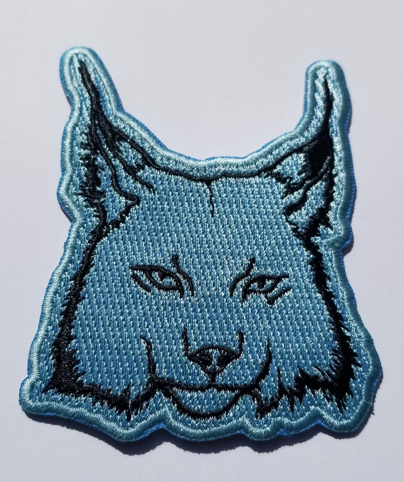Royal Bobcat Patch