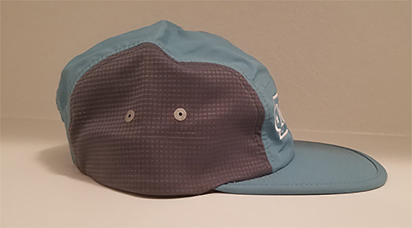 Polyester Two-Tone Racer Hat w/ Mint Logo (Velcro back)