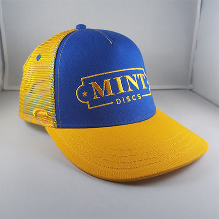 Trucker Hat - Low Profile (Royal Blue & Athletic Gold)