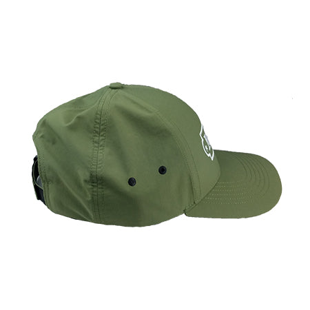 Nylon Performance Hat w/ Mint Logo (Velcro  Back)