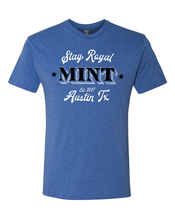 MINT Discs Stay Royal Tee