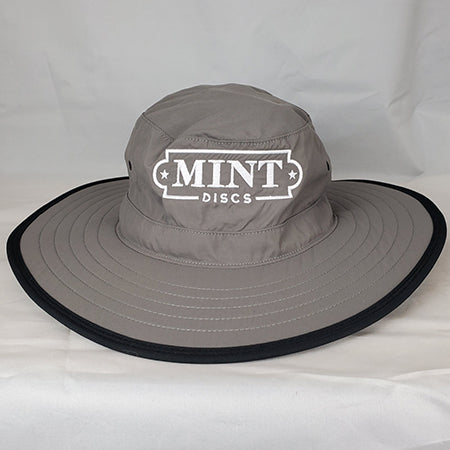 Wide Brim Performance Hat w/ Mint Logo