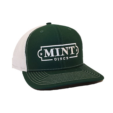 Trucker Hat w/ Mint Logo (Snap-Back)