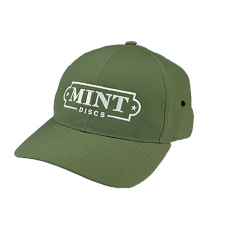 Nylon Performance Hat w/ Mint Logo (Hook & Loop Back)