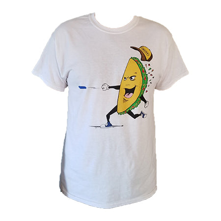 The Taco T-Shirt (50% Poly / 50% Cotton)