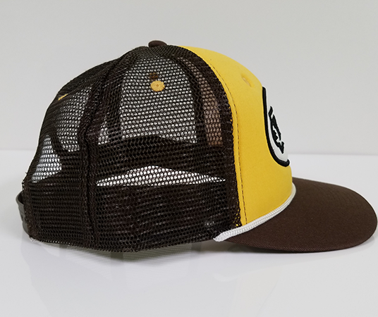 Trucker Hat w/ Logo Patch