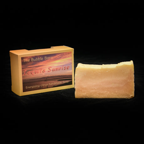 Tequila Sunrise Soap - The Bubble Barn