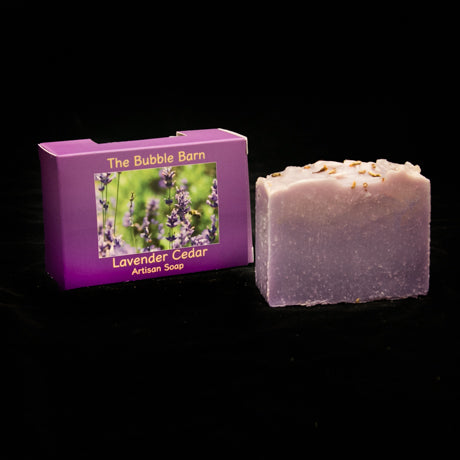 Lavender Cedar Soap - The Bubble Barn