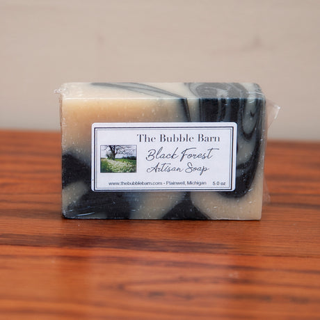 Black Forest Artisan Soap - The Bubble Barn