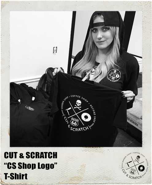 CUT & SCRATCH: <br>CS Logo <br>(T-Shirt)