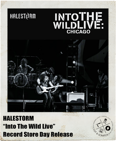 HALESTORM: <br>Into The Wild Live <br>(RSD 2016 Release)