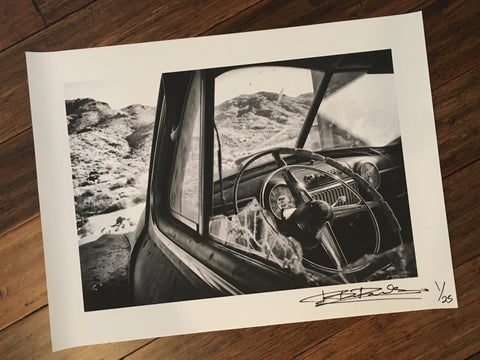Limited Edition <br>Randy Blythe Route 66 Photo 1