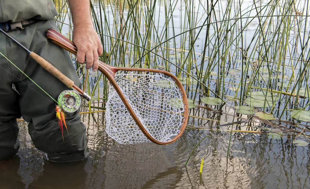 Tailwater Outdoors premium quality classic style fishing nets, handmade from high quality woods. Ideal for all fishing and outdoor enthusiasts.