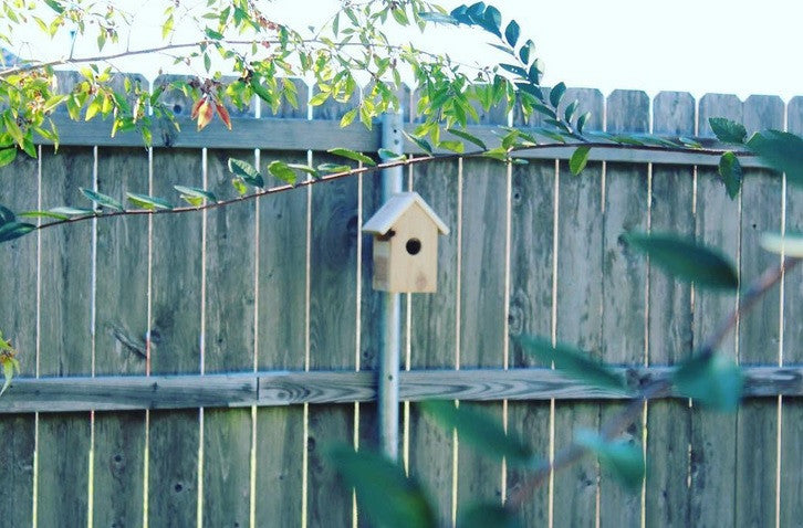 How to Mount a Birdhouse on a Fence Post using the Post Host® Birdhouse Mounting Kit