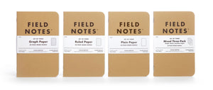 Field Notes Original Kraft - Ruled Paper - 3-Pack