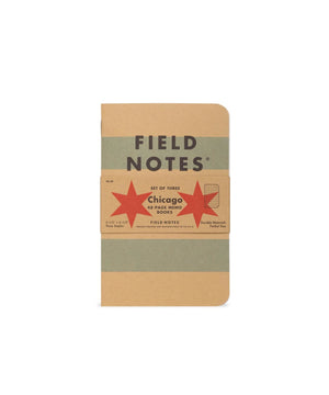 Field Notes Chicago - Graph Paper - 3-Pack