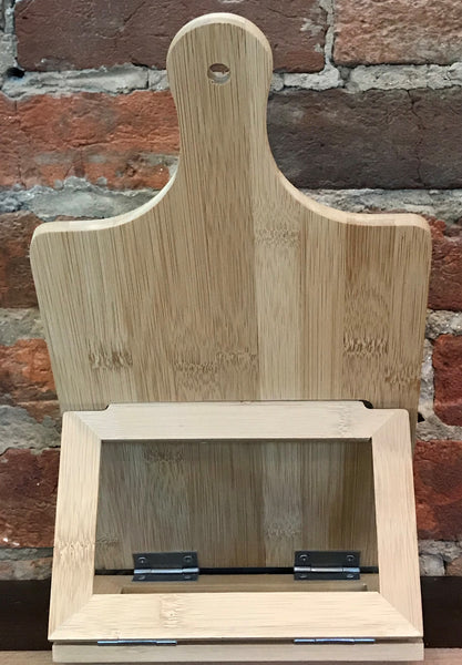Personalized Chef's Easel with Hand Written Recipe (Free Engraving & Shipping)