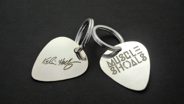 Muscle Shoals Guitar Pick Keychain Series