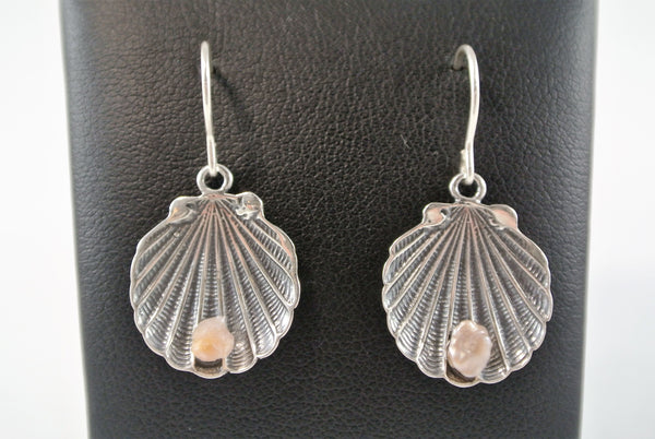 Singing River Fresh Water Pearl Earrings with French Wire