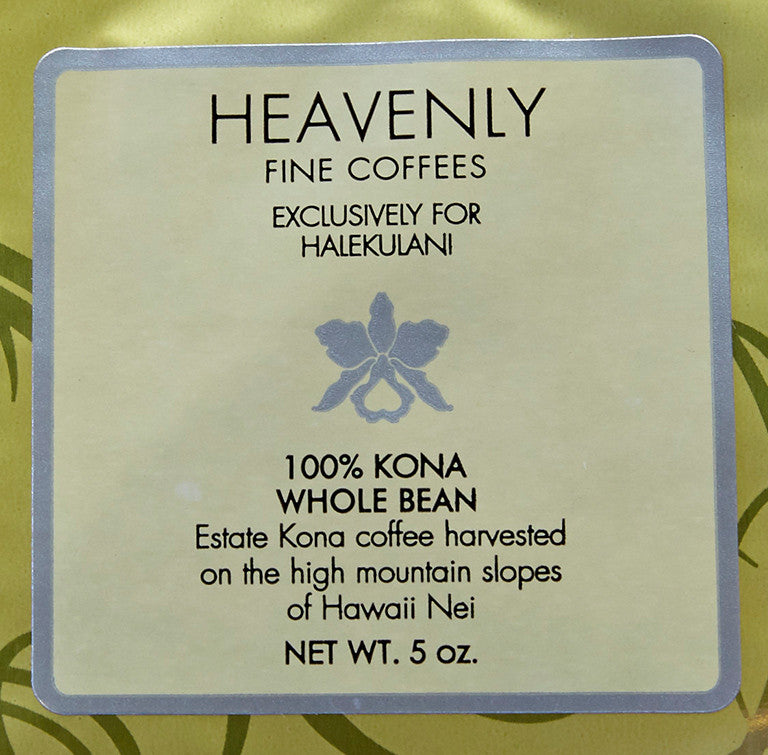Halekulani Heavenly Fine Coffees - Kona