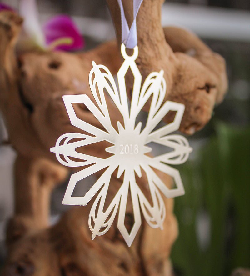 Halekulani Holiday Ornament 2018